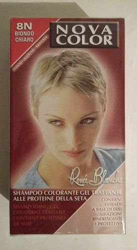Coloration blond 8N