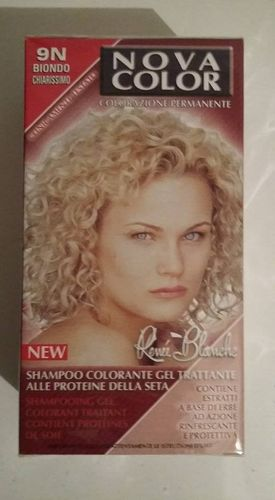 Coloration blond 9N